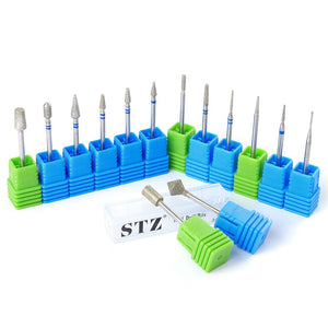 Professional Electric Nail Drill Bit Diamond Grinding Head Nail Metal Manicure Machine Accessories
