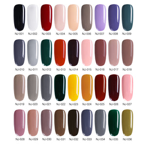 3.5ml Coffee Gray Red Series Nail Polish Nail Varnish  Nail Color Nail Art Polish varnish Decoration
