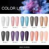 1 Box Nail Powder Natural Dry Colorful Long Lasting Nail Art Pigment Dust Powder