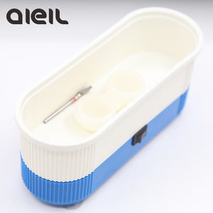 Mini Tools Sterilizer Nail Drill Bit Portable Ultrasonic Cleaner for Manicure Machine Sterilizer Box Nail Art Tools Nail Salon