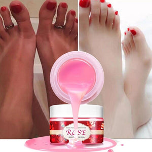 Rose Nail Paraffin Wax Fungal Nail Treatment Wax Sleek Smooth Exfoliation Skin Moisturizing Whitening Fine Lines Hand Care