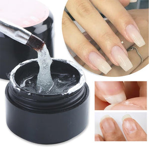 Fiber Extension Repair Gel Clear Poly Builder For Nail Extension Acrylic Repair Broken Nail Forms Gel Nail Art Gel Polish