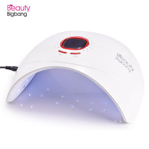 36W UV LED Lamp Nail Dryer Machine For Nail Polish Gel Rechargeable Battery Varnish SUN 5 Led
