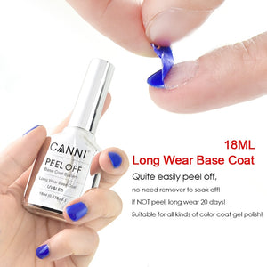 18ml Easy Peel off Remove Water Base Coat Magic Nail Art Manicure Suitable for All Kind of Color UV Gel Polish