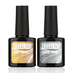 Top Base Coat Gel Nail polish 2PCS/Lot 10ml Primer Nails Base Top Coat Gel Hybrid Nail Polish