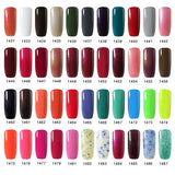 8ml Nail Polish Nail Gel Soak off LED UV Hybrid Gel Lacquer Nail Primer Gel Varnish Red Pink Glitter Nail Makeup