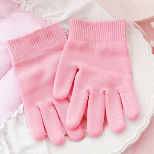 Gel Spa Gloves Moisturizing Whitening Exfoliating