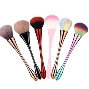 Single Small Waist Makeup Brush Net Red Brush Nail Brush Dust Brush Blush Brush Loose Powder Brush Beauty Tools