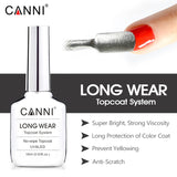 18ml Long Wear Topcoat No wipe Non cleansing Diamond Super Bright Glossing Top Coat