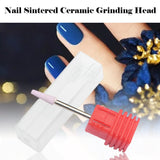 Nail Polishing Head Manicure Nail Tools Can Be Polished And Polished To The Dead Skin Without Ironing Ceramic Grinding Head