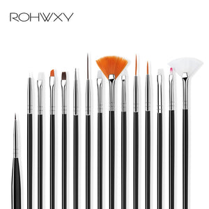 Nail Brush For Nail Art 15Pcs/Set
