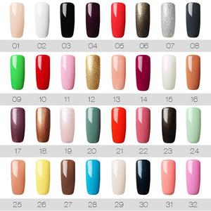 Gel Polish Nail Art Set For Manicure Hybrid Nails Color Polygel Vernis Semi Permanent UV Gel Nail Polish Gel Varnish