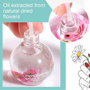 8/15ML Fruit Smell Dried Flowers Nail Cuticle Oil Care