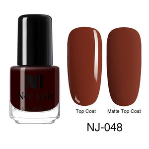 3.5ml Matte Nail Polish Colorful  Red Black Long Lasting Matte Dull Nail Art Varnish  varnish Nails