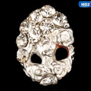 3D Alloy Nail art Accessories Shinning Crysta