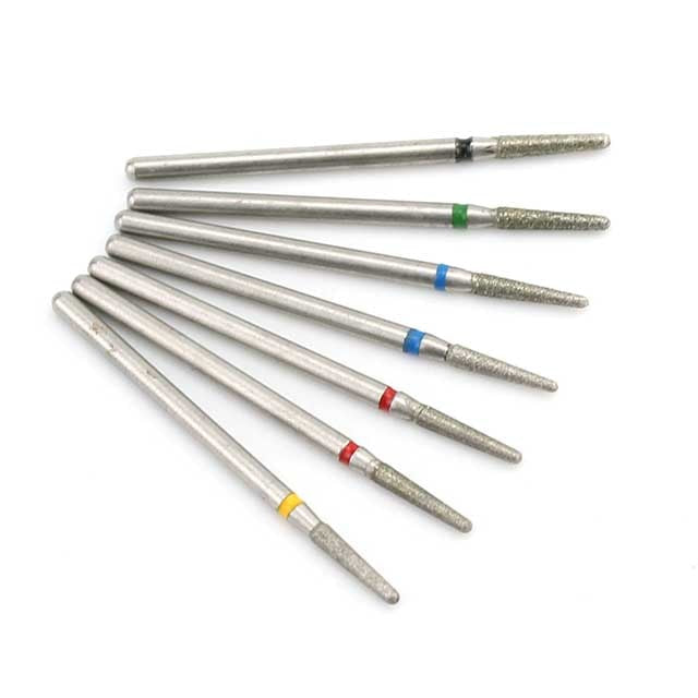 7pcs/Set Diamond Nail Drill Bit Rotery Electric Milling Cutters