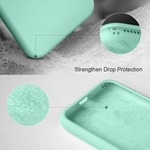 Silicone Case For iPhone Mint