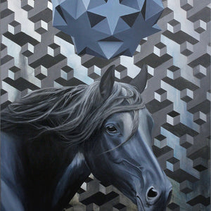 Iteration 88: Horse/Black Mirror