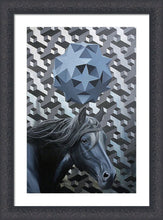Load image into Gallery viewer, Iteration 88: Horse/Black Mirror