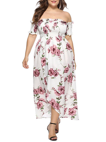 Women's Plus Size Daily Basic Maxi Sheath Dress, women clothes, plus size clothes, plus size dress, plus size women clothes, summer dress, women clothes, women plus size dress - ThingsBuy