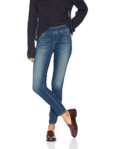 Signature by Levi Strauss & Co. Gold Label Women's Totally Shaping Pull-On Skinny Jeans, Harmony, 2 Short - ThingsBuy