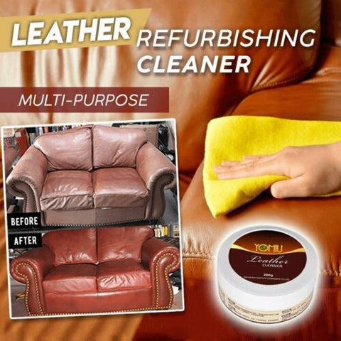 Multifunctional Leather Refurbishing Cleaner Car Seat Sofa Leather Cleaning Cream All-Purpose Leather Repair Conditioner, cleaner, cleaner, home products, leather cleaner, Multifunctional Lea