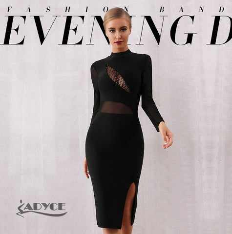 Adyce Women Long Sleeve Dress