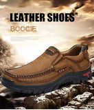Causal Genuine Leather Men Shoes, shoes, shoes - ThingsBuy