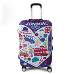 TRIPNUO Thicker Blue City Luggage Cover - ThingsBuy