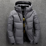 BOLUBAO Men White Duck Down Coats, Men Jacked, BOLUBAO 2019 Winter Down Parkas Mens Quality Thermal Thick Parka Male Warm Outwear Fashion White Duck Down Jacket Men Coats, Male Warm Outwear,