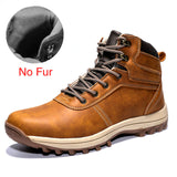 DEKABR Winter Warm Men Boots Genuine Leather Fur Plus Men Snow Boots Handmade Waterproof Working Ankle Boots High Top Men Shoes, shoes, boat, Men Winter Snow Boots Warm Super Men, shoes - Thi