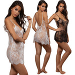 Women Lace Sexy Lingerie Nightwear Underwear G-string Babydoll Sleepwear Dress women's Bikini Cover Up Beach Dress