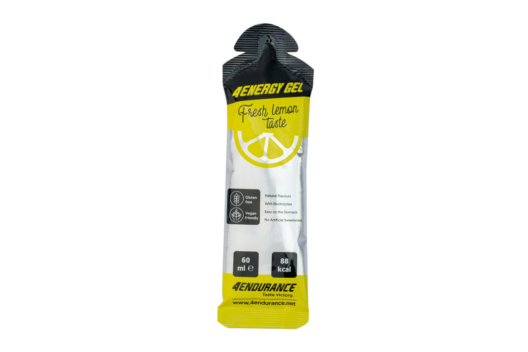 energy gels lemon