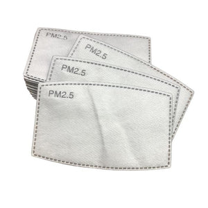 Cotton Filter Mask - Pack of 2