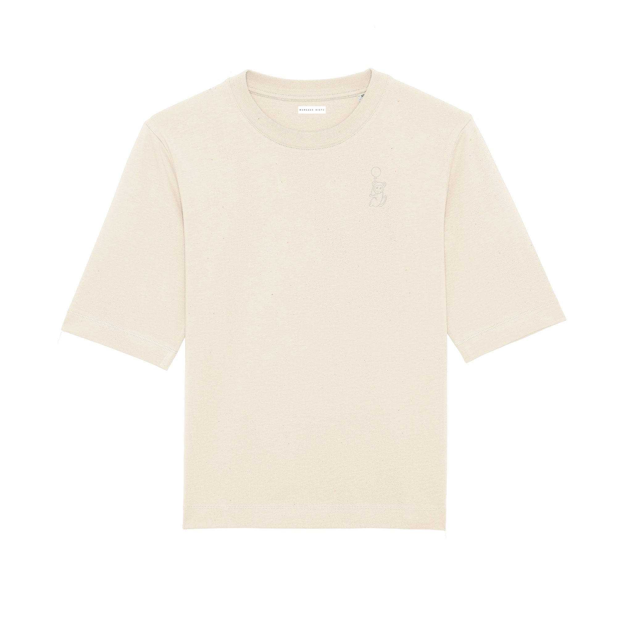 Juan Carlos T-shirt natural raw