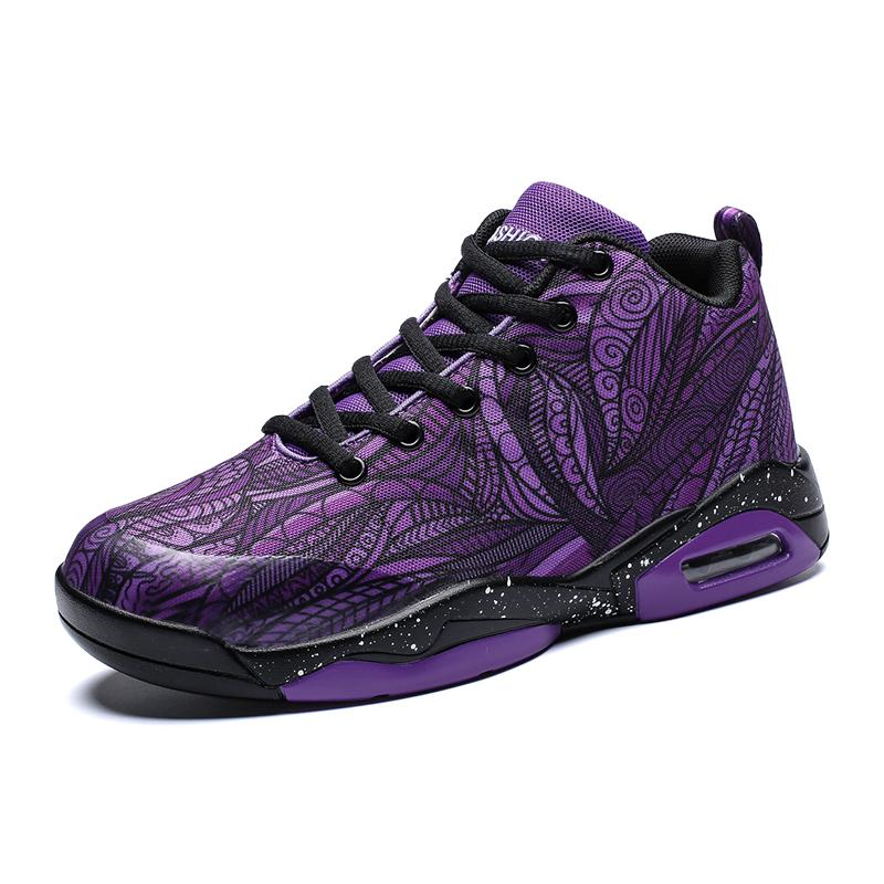Mid-Top Mens Basketball Shoes Big Size