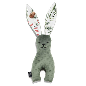 DOUDOU LAPIN VERT FOREST