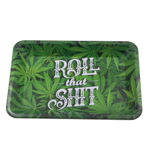 """Roll that Shit"" Rolling Tray"