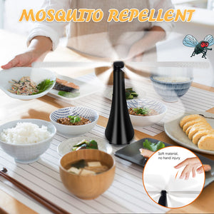 Fly Repellent Fan Keep Flies And Bugs Away From Your Food Enjoy your Outdoor Meal