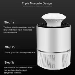 Home LED USB Electric Mosquito Repellent Killer Lamp