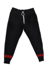 3NW Stacked Joggers - Red - thirdandwalker
