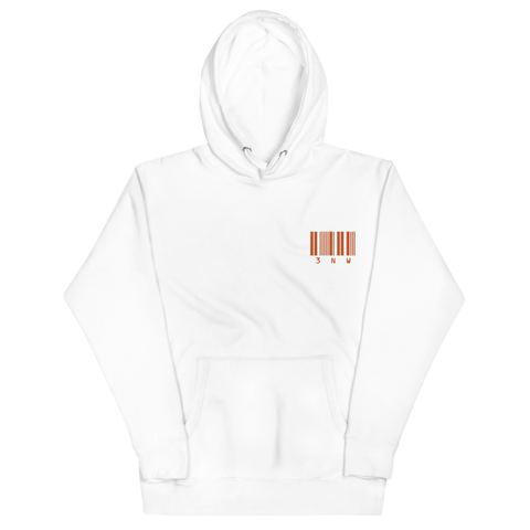 Embroidered 3NW Code Hoodie - thirdandwalker