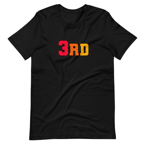 3RD Tee -  Fire - thirdandwalker