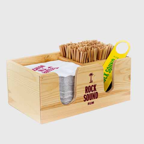 Rock Sound Napkin Caddy