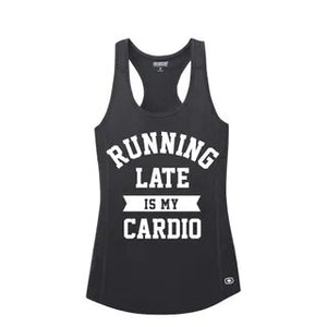 Running Late Is My Cardio