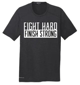 Fight Hard Finish Strong Mens Ogio Tee