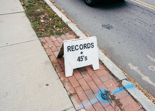 Records + 45's by Jaime Alvarez