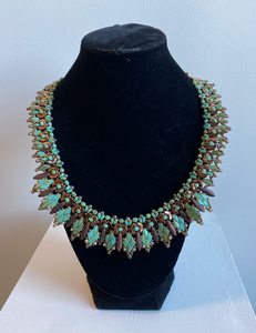 Green Leafed Necklace