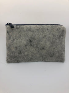 Small zipper purse