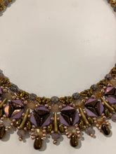 Load image into Gallery viewer, Purple Circle Necklace